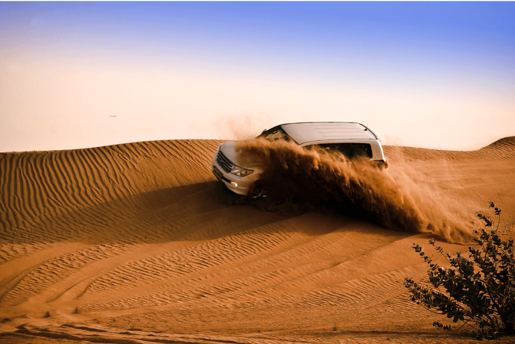 Jeep Safari 4x4 Dune Bashing Jaisalmer